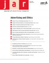Journal of Advertising Research: 48 (1)