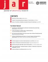 Journal of Advertising Research: 49 (1)