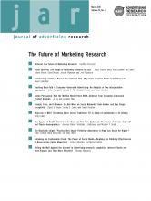 Journal of Advertising Research: 51 (1)