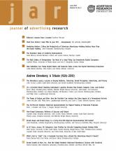 Journal of Advertising Research: 52 (2)