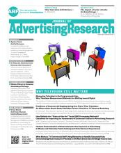 Journal of Advertising Research: 57 (1)